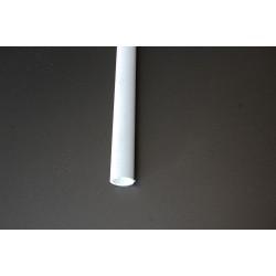 Perfil intermedio en tubo redondo
