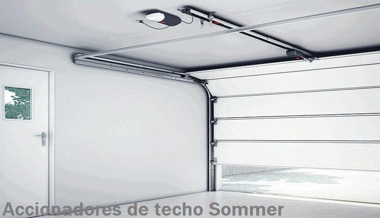 MOTOR DE TECHO SOMMER