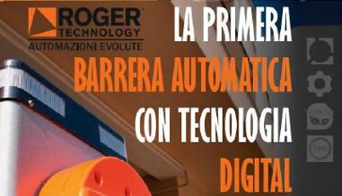 Primera barrera automática con tecnología digital